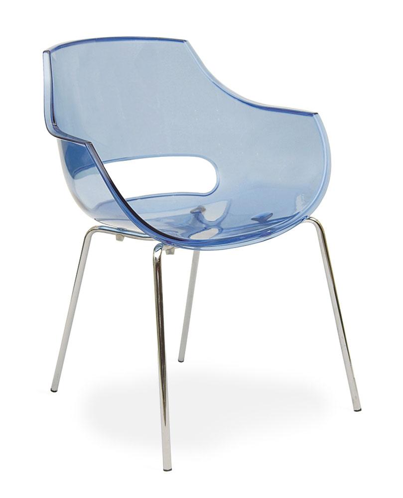 mobilier de collectivit s fauteuil c6 empilable 4 pieds chrom s mobilier de bureau entr e. Black Bedroom Furniture Sets. Home Design Ideas