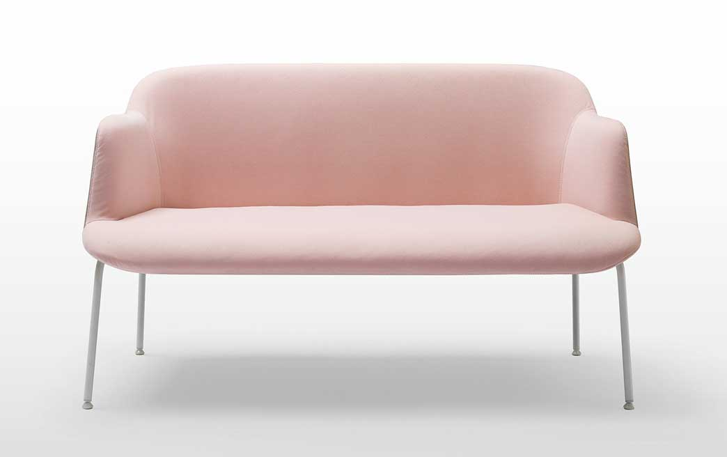 Canap s design canap lounge deep cuir pieds m tal ou - Canape pied metal ...