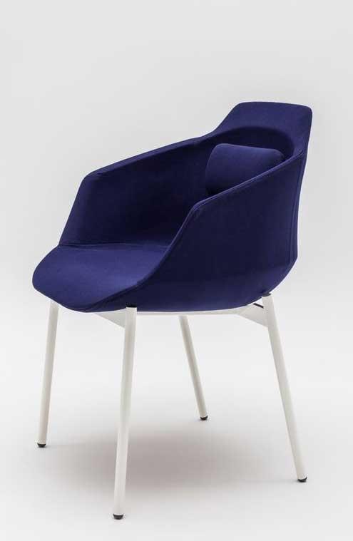 si ges de r union fauteuil de r union lutra 4 pieds m tal mobilier de bureau entr e principale. Black Bedroom Furniture Sets. Home Design Ideas