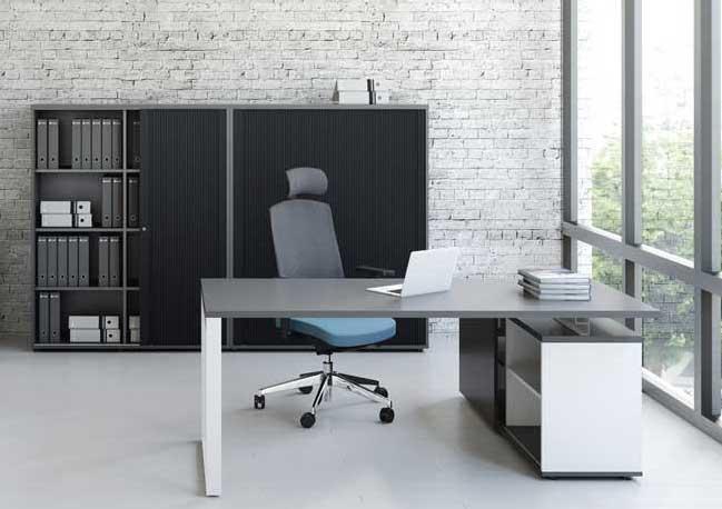 bureaux individuels bureau sur desserte ogiq mobilier de bureau entr e principale. Black Bedroom Furniture Sets. Home Design Ideas