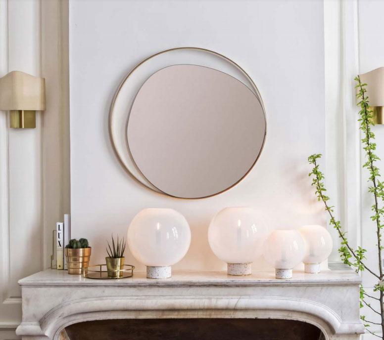 Miroir Design Elipse 80