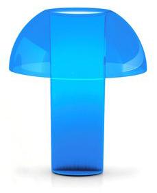 Lampe Colette bleue