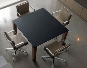 Table de réunion carrée Regal