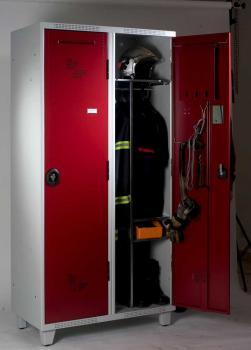 Vestiaires Pompier 2 cases AC