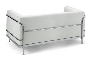 Canapé Soft cuir blanc ou noir