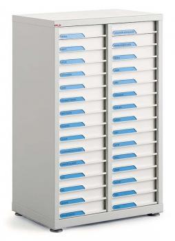 Comptoir 2 colonnes 30 tiroirs