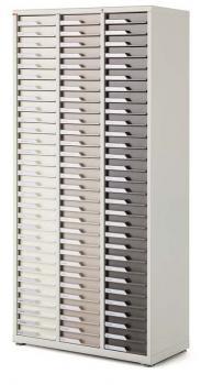 Armoire 3 colonnes 90 Tiroirs e-clen