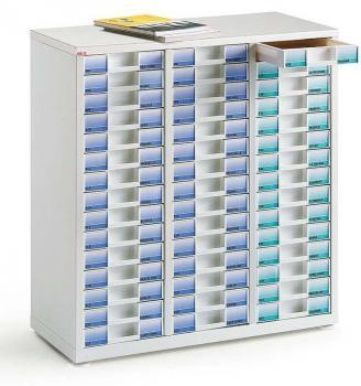 Comptoir 3 colonnes 45 tiroirs