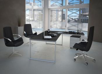 Bureaux de direction bureau avec retour dynamic mobilier de