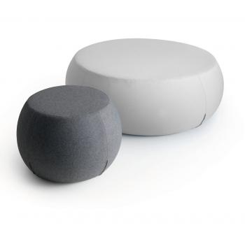 Set de 2 Poufs Point