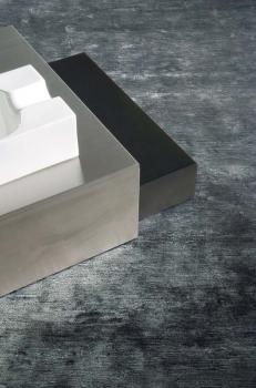 Tapis Frost 100% coton noué main