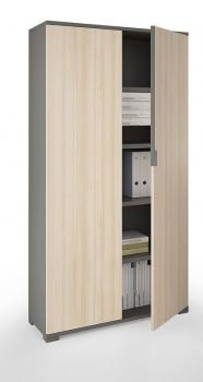 Armoire Haute 2 Portes Battantes Alliance