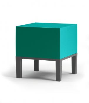Pouf Cube 01 sur 4 Pieds