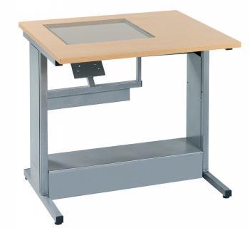 Table Informatique avec écran sous-vitre