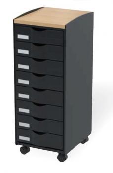 classement tiroirs bisley clen desserte mobile 16 tiroirs mobilier de bureau entr e. Black Bedroom Furniture Sets. Home Design Ideas