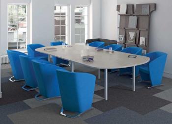 Table Ovale de Réunion 8 Personnes