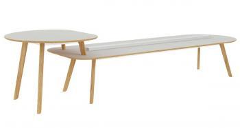 Tables Coworking 2 niveaux R16