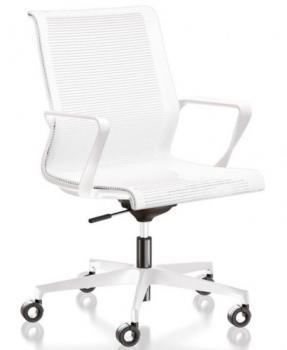 Fauteuil Résille Coloris Blanc