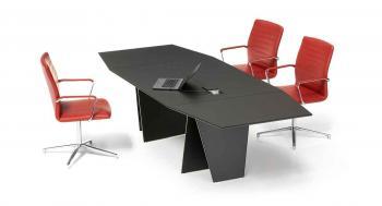 Table de Réunion Air Design Tout Cuir