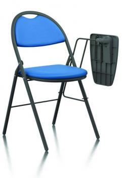 Chaise Pliante de Formation avec Tablette Écritoire
