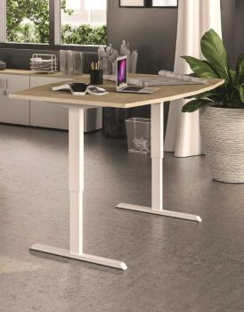 Table Meeting Tonneau Réglable en Hauteur