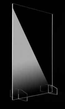 Ecran Plexiglas de Protection sur Pied