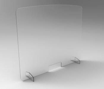 Ecran Plexiglas de Protection à Poser