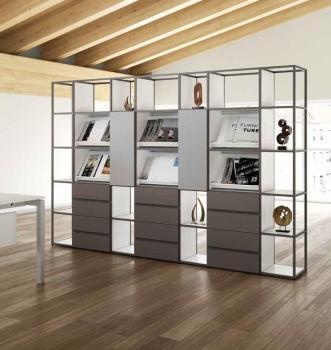 Bibliothèque TZ18 avec Présentoirs