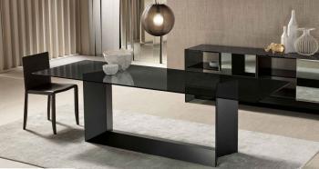 Table Design T5 en Verre Fumé