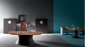 Table Design Ola Bois et Cuir