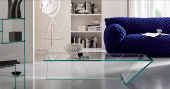 Table Basse TI Verre Extra-Clair