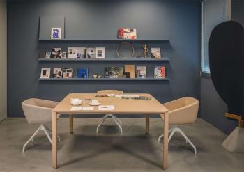 True Design Table Bois Carrée Ermete