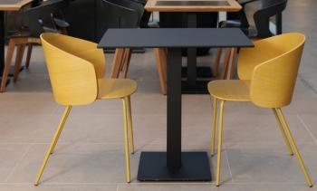 Ensemble 2 Fauteuils Bois + 1 Table Not Wood