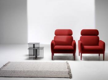 Fauteuil Lounge Haut Dossier Join