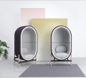 Fauteuil Acoustique Design Capsule