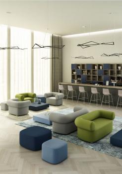 Ensemble Sièges Lounge Abbey