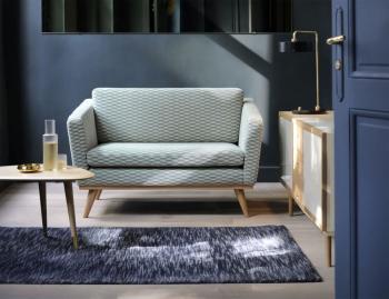 Canapé Design 120 Pieds Chêne Massif