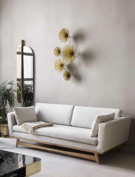 Canapé 210 Pieds Chêne Massif