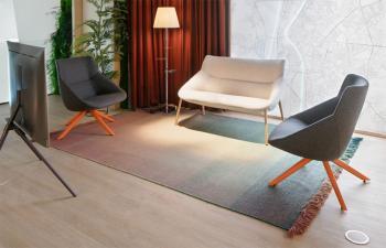Ensemble Lounge Bow Pieds Bois