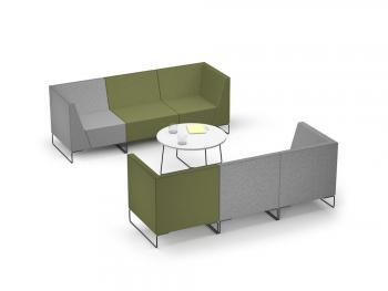 Ensemble 2 Canapés 3 Places Let's Sit