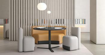 Mobilier Cafétéria Season et Table Aspa
